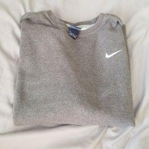 Gray Nike Crewneck